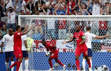 Rusia 2018: Panamá hizo historia tras marcar su primer gol en un Mundial