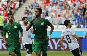 Arabia Saudita se despide del Mundial con un agónico triunfo ante Egipto
