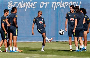 Brasil se prepara para crucial encuentro contra Serbia por el Mundial Rusia 2018