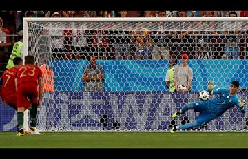 Cristiano Ronaldo falló penal en el Irán vs Portugal