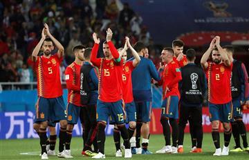 España avanzó a octavos con agónico empate sobre Marruecos