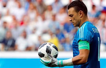 Essam el Hedary se convirtió en el jugador más veterano de la historia de los Mundiales