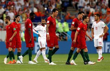 Portugal igualó con susto ante Irán y avanzó a octavos de final de Rusia 2018