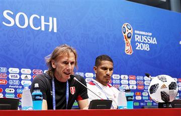 """Ricardo Gareca agradeció a los hinchas peruanos por el apoyo a la """"Blanquirroja"""""""
