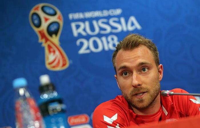 Rusia 2018: Christian Eriksen quiere a Dinamarca en el primer lugar del grupo C