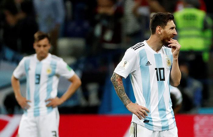 Rusia 2018: FIFA multó a las selecciones de Argentina, Croacia y Serbia