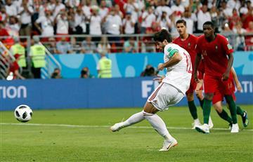 Rusia 2018: Récord de penales pitados se rompe en el Irán vs Portugal