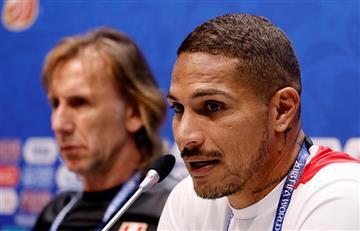 Selección Peruana: Paolo Guerrero pidió a Ricardo Gareca que se quede como DT