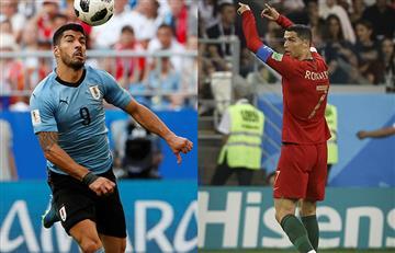Uruguay vs Portugal: fecha, hora y canal del partido por octavos de final de Rusia 2018