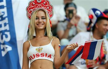 Uruguay vs Rusia: fiesta en las gradas del Samara Arena por parte de los hinchas