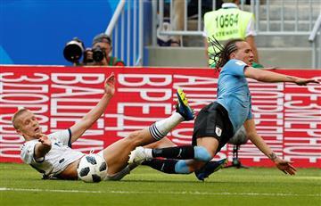 Uruguay vs Rusia: revive las mejores jugadas de este compromiso