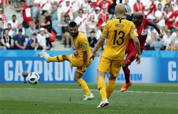 André Carrillo marcó el primer gol peruano en el Mundial Rusia 2018