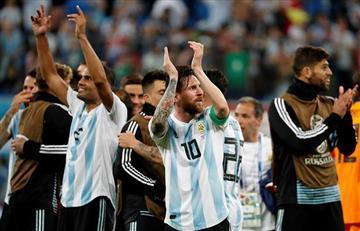 Argentina sufrió para avanzar a octavos de final de Rusia 2018
