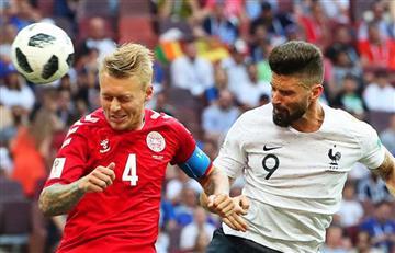 Francia y Dinamarca igualan sin goles para avanzar a octavos de final