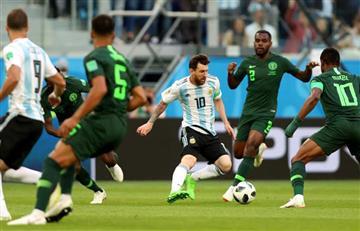 Nigeria vs Argentina: revive las mejores jugadas del encuentro