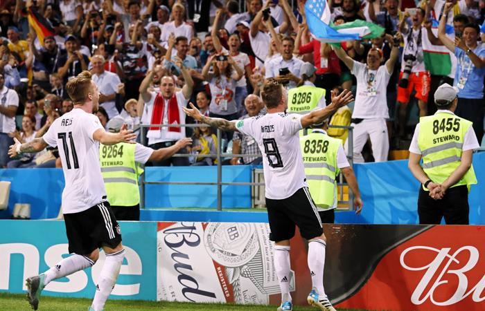 Alemaniavs Corea del Sur EN VIVO ONLINE. Foto: EFE