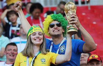 Brasil vs Serbia: revive la fiesta de sus hinchas desde Moscú