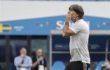 Joachim Low y sus duras palabras tras eliminación de Alemania de Rusia 2018