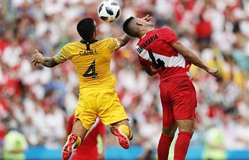 Perú vs Australia: el rating de la despedida de la Bicolor de Rusia 2018