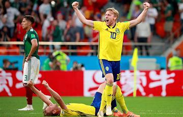 Suecia goleó a México y casi lo deja fuera del Mundial a los aztecas