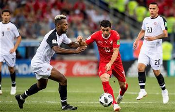 Suiza logró su cupo a octavos tras igualar ante Costa Rica
