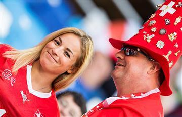 Suiza vs Costa Rica: las mejores postales de los hinchas presentes en Nichni