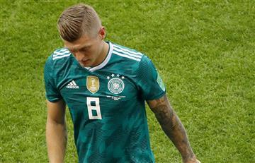 Toni Kroos se despidió de Rusia con tristes palabras