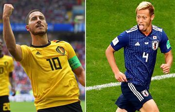 Bélgica vs Japón: fecha, hora y canal del partido