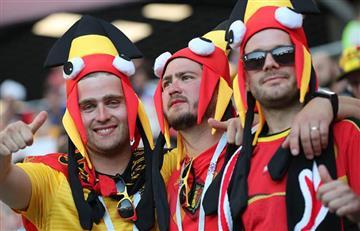 Inglaterra vs Bélgica: estas son las mejores postales de los hinchas en las tribunas