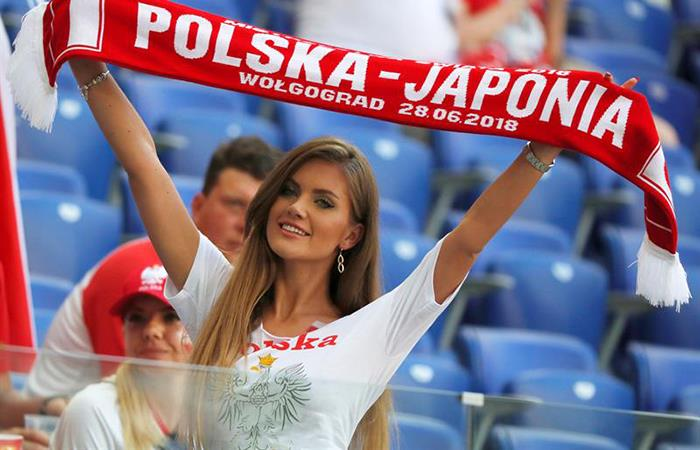 Japón vs Polonia: hinchas transmiten la alegría en las gradas de Volgogrado