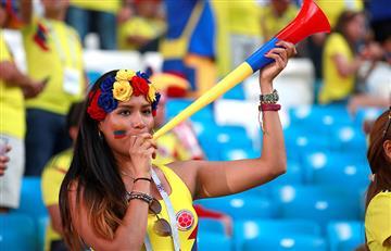 Senegal vs Colombia: hinchas llenaron de color las tribunas del Samara Arena