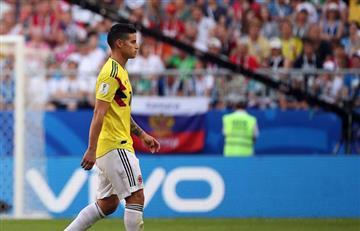 Rusia 2018: este sábado se conocerá el alcance de la lesión de James Rodríguez