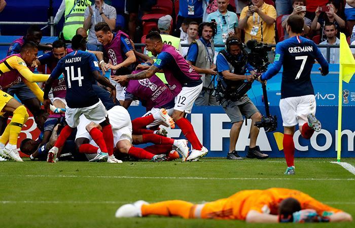 Selección de Francia. Foto: EFE