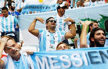 Francia vs Argentina: Así viven los hinchas el partido en el Kazán Arena