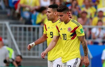 James Rodríguez no jugaría ante Inglaterra por los octavos de final de Rusia 2018