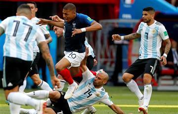 Javier Mascherano, el jugador con más tarjetas de la historia de la Copa del Mundo