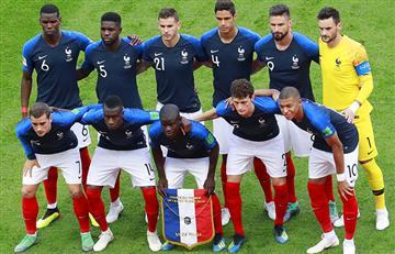 Selección de Francia: este jugador no jugará los cuartos de final de Rusia 2018