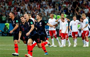 Croacia eliminó a Dinamarca en dramática definición por penales