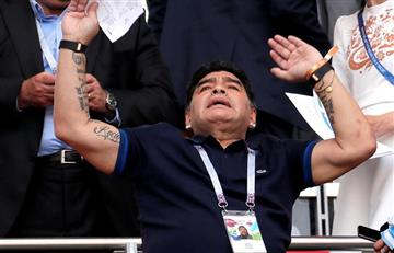"Diego Maradona tilda de ""equipito"" a la Argentina de Lionel Messi"