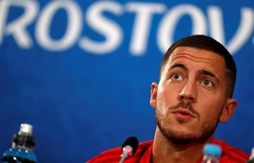 Eden Hazard contento por la eliminación de Lionel Messi y Cristiano Ronaldo