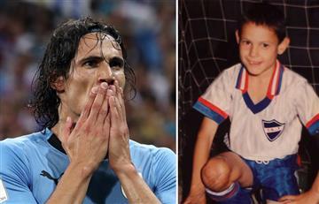 Edinson Cavani: la emotiva carta a su niño interior que lo impulsa a ser goleador