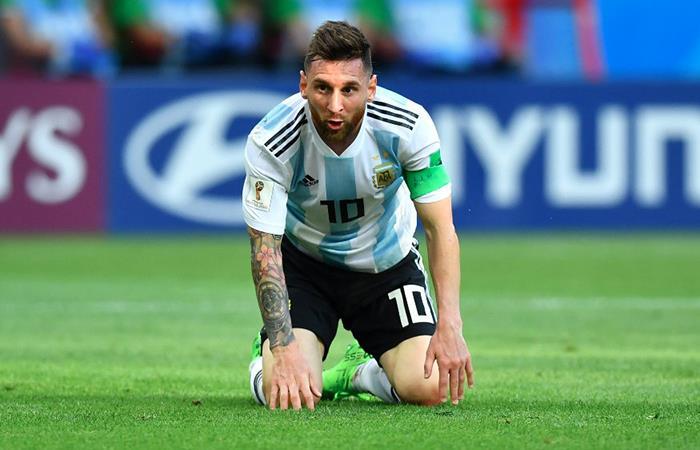 Lionel Messi se fue del Mundial tras perder 3-4 ante Francia. Foto: Twitter