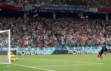 Luka Modric y el detrás del penal errado ante Dinamarca por Rusia 2018