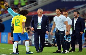 Tite confirmó al reemplazo del lesionado Marcelo frente a México