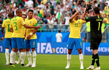 Brasil se clasificó a cuartos de final del Mundial tras derrotar a México