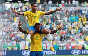Neymar logra superar a Messi y Cristiano con una estadística en los mundiales