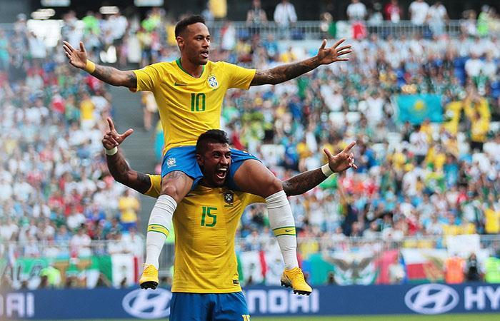 Neymar llevó a Brasil a cuartos de final de Rusia 2018 (Foto: EFE)