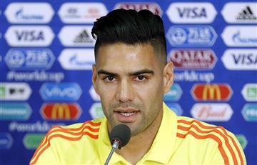 Radamel Falcao lanza claro mensaje previo al Colombia vs Inglaterra