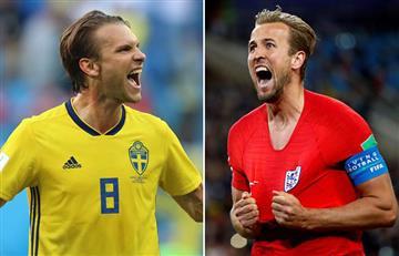 ¿Cuándo y a qué hora se juega Inglaterra vs Suecia?