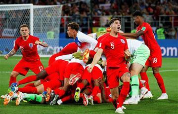 Inglaterra venció por penales a Colombia y avanzó a cuartos de Rusia 2018